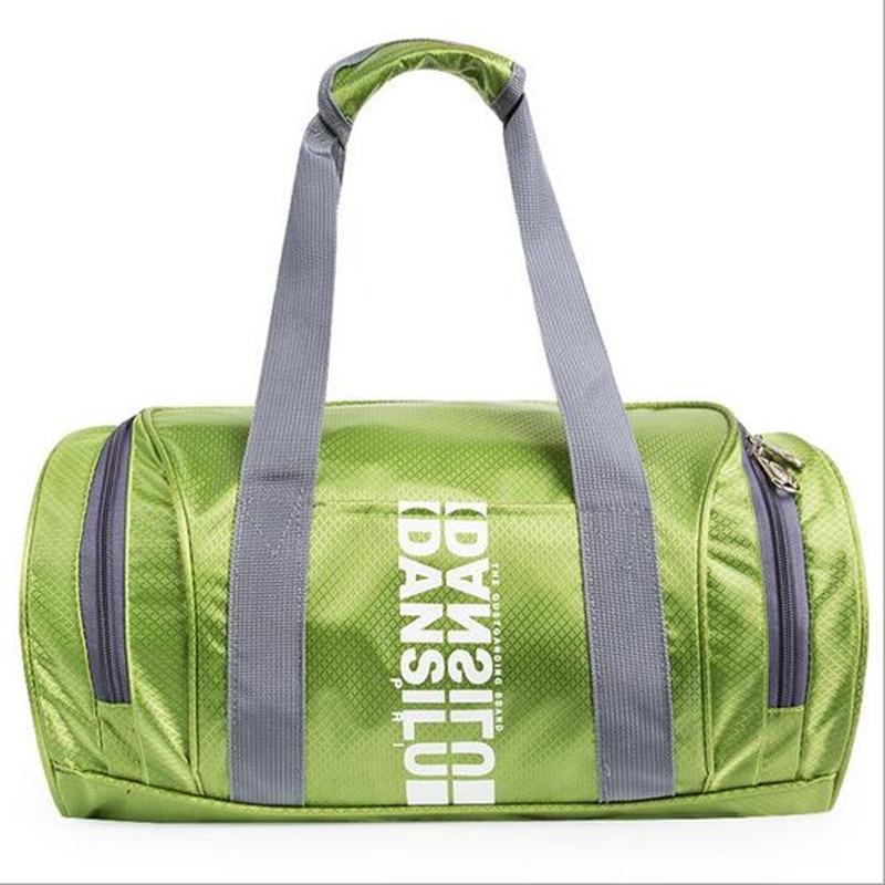 c3e95b1fbd Waterproof nylon sports bag Ultralight Foldable outdoor gym bag yoga bags  Travel Duffle Bags