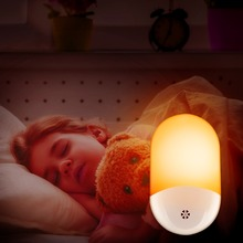 цена Energy Saving Led Light Sensor Night Light Intelligence LED Baby Bedroom Lamp Feeding Lamp Toilet Corridor Stairs Night Light