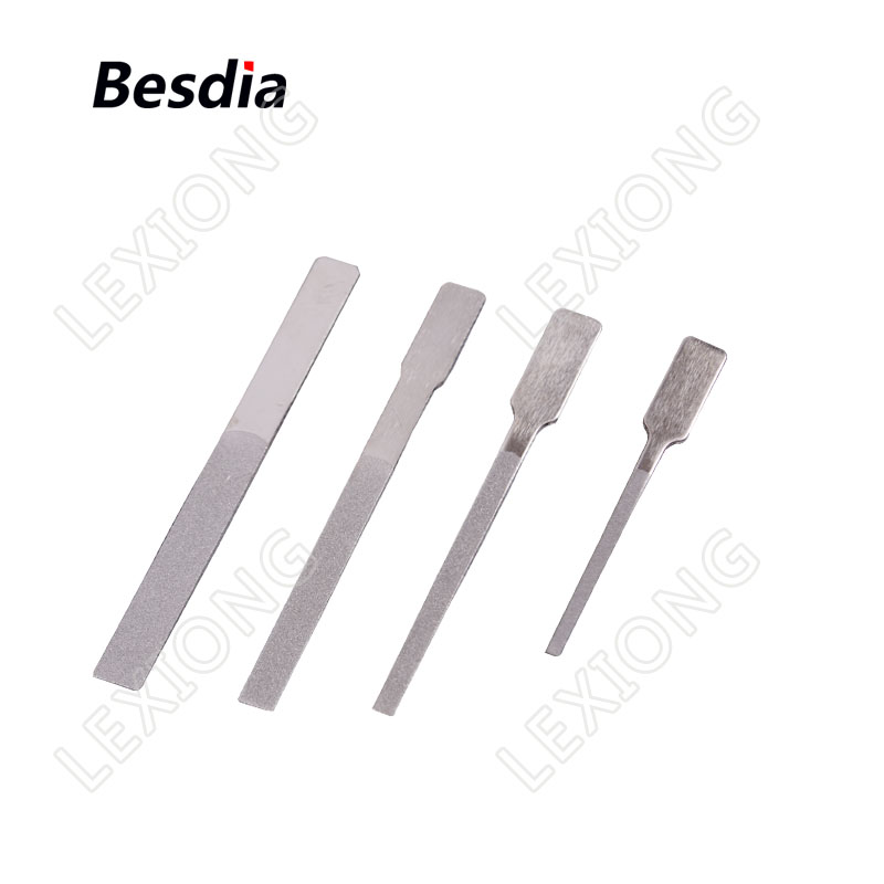 TAIWAN Besdia Diamond Tip Files Carborundum Alloy Files Flat - Herramientas manuales - foto 4