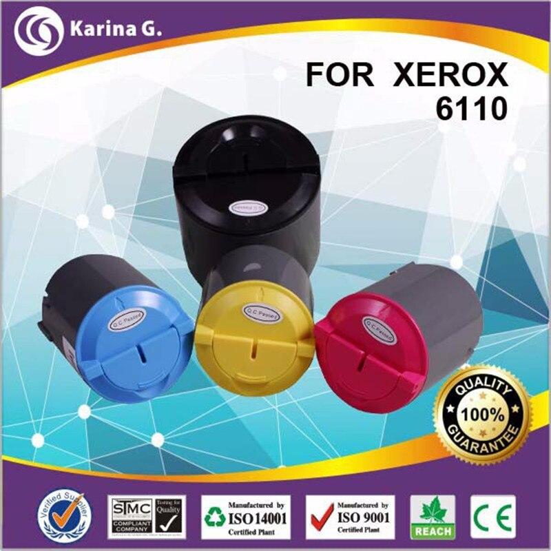 4pk universal compatible TONER for XEROX 6110/6110N/6110MFP/6110B 6110 BK/C/M/Y compatible for Samsung CLP300 BK/c/m/ 2c 1m 1y 1bk compatible toner cartridge for xerox color printers 550 560 570 006r01525 26 27 28 bk c m y 5pcs lot