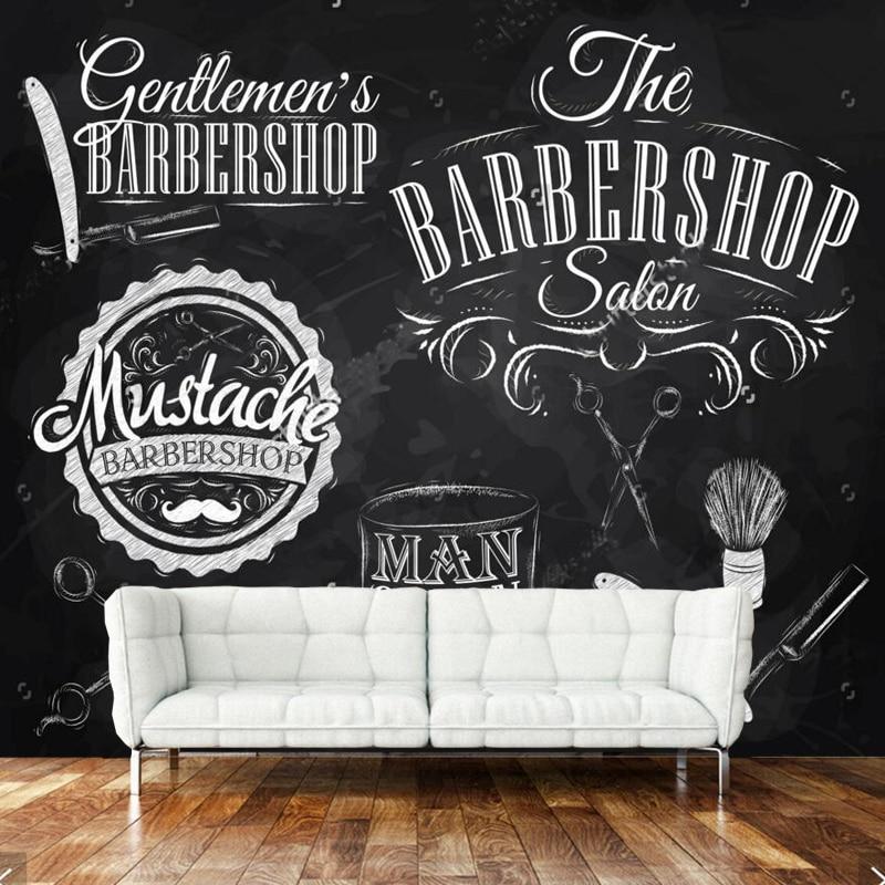 Buy retro wallpaper barber elements and - Papel de pared retro ...
