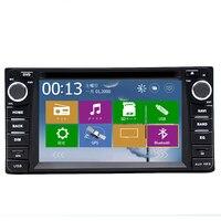 2din Car DVD GPS for Toyota Hilux yaris VIOS Camry Corolla Prado RAV4 Prado 2003 2004 2005 2006 2007 2008 Reverse camera