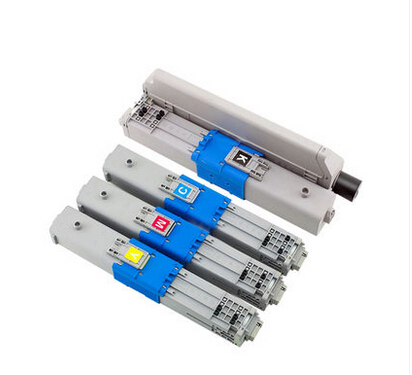 4 Pack 7K C530 C510 MC561 C531 C511 MC562 Toner Cartridge Compatible OKI 44973508 44469724 44469723 44469722 with High Quality 4 pack high quality toner cartridge oki mc860 mc861 c860 c861 color printer full compatible 44059212 44059211 44059210 44059209