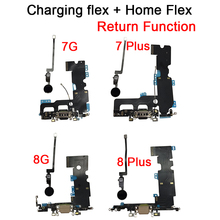 New For iPhone 7 7 Plus Home Button Key Return Function Solution & USB Charging