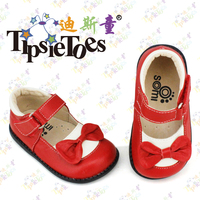 TipsieToes Brand Bow Genuine Leather Baby Kids School Shoes Moccasins For Girls Princess New 2014 Autumn