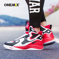 Onemix Man Basketball Shoes For Men Chinese Peking Opera Style Breathable Leahter Boot Nice Classic Trekking Retro Sneakers Shoe|Basketball Shoes|Sports & Entertainment -