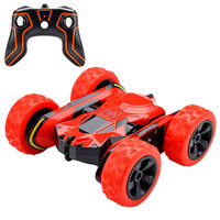 RC car 1:28 2.4GHz Remote Control 360 Degree Stunt Rolling Car RC Model Vehicle Toy tough resistant to collision or impact