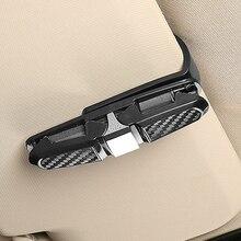 Солнцезащитный козырек автомобильные очки клип солнцезащитные очки держатель Чехлы застежка Cip зажим для очков зажим для билетов, карточек Универсальный