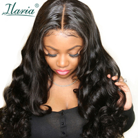 ILARIA Lace Front Human Hair Wigs Body Wave Pre Plucked With Baby Hair Brazilian Remy Hair Full Lace Wig For Black Women 360 Wig