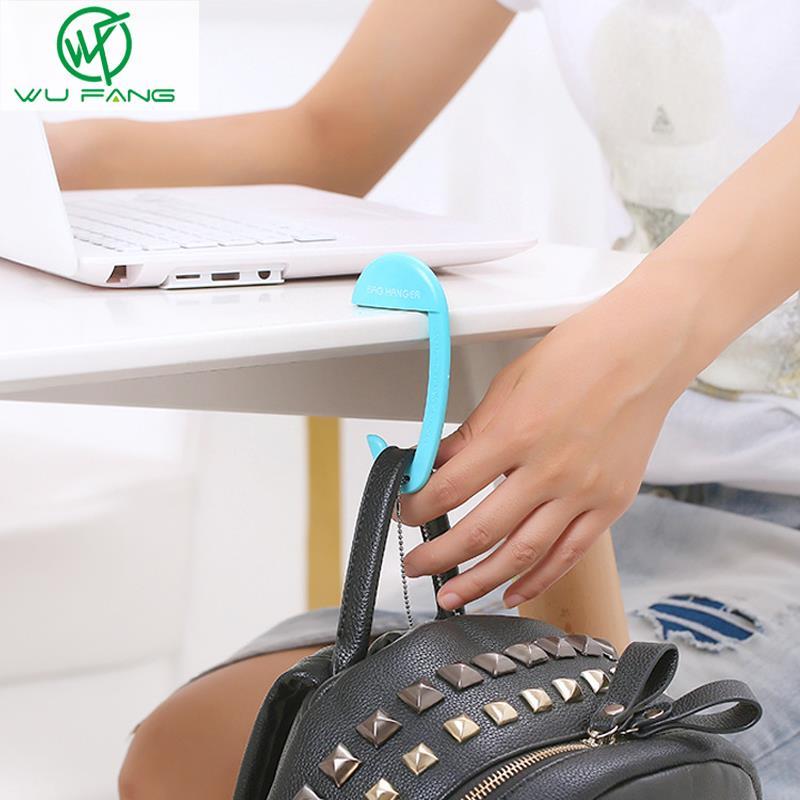 Portable Removable Plastic Bag Hook Portable Table Purse Bag Hook Hanger  Holder Handbag Hanger Table Desk