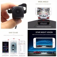 Mini WIFI Reversing Camera Wireless Rear View Dash Cam Star Night Vision Tachograph For iPhone Android Waterproof DC 12V 24V