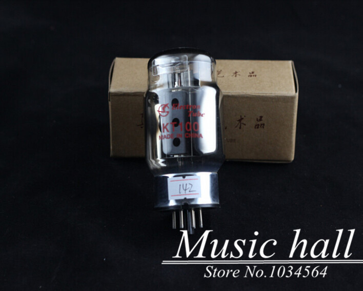 Douk Audio Shuguang Electronic KT100 Audio Vacuum Tube valve for HIFI 1PCS for tube amplifier Free Shipping music hall shuguang natural sound 12ax7 t audio vacuum tube valve with gold pins 1pcs for tube amplifier