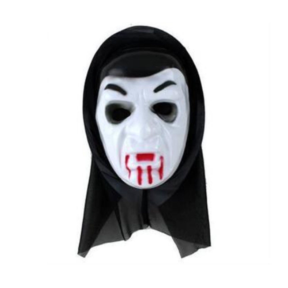 Le grand haute sorcière masque ghoul effrayant halloween latex déguisement démon sorcière