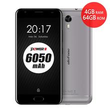 """Original Ulefone Power 2 Mobile Phone 5.5"""" FHD MTK6750T Octa Core Android 7.0 4GB RAM 64GB 16MP 6050mAh Touch ID 4G Smartphone(China)"""