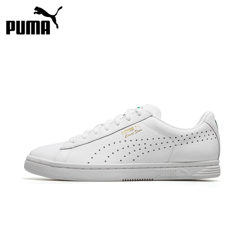 Authentic New Arrival PUMA Court Star Unisex Hard-Wearing Skateboarding Shoes Sports Sneakers Classique Comfortable