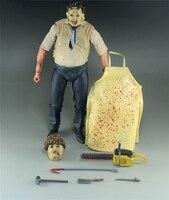 Thomas Hewitt The Texas Chainsaw Massacre 40TH Anniversary Erin Morgan Spiderman Joker PVC Action Figures Collectible