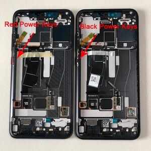 Image 3 - Original M&Sen LCDFrame For Xiaomi Mi8 Pro Mi 8 Pro In Screen Fingerprint AMOLED LCD Display Screen Frame+Touch Screen Digiziter