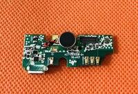 중고 USB 플러그 충전 보드 + 마이크 마이크 DOOGEE BL5000 용 MTK6750T Octa Core 5.5 ''fhd 1920*1080 무료 배송