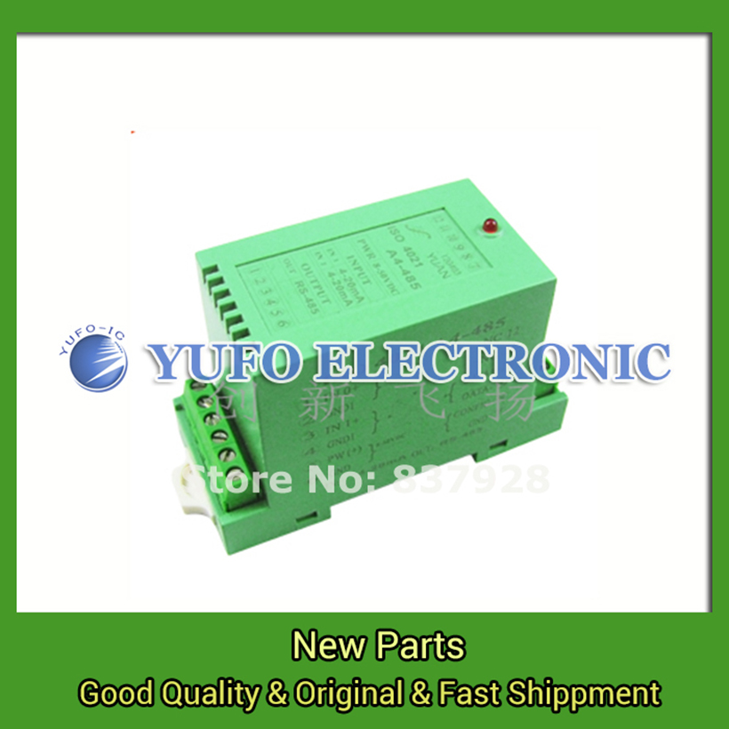 Free Shipping 1PCS ISO DA 04-232 proxy rail signal acquisition data acquisition bus AD converter YF0617 relay free shipping 1pcs iso ad 02a u8 485 data acquisition 2 input channels isolated data acquisition module yf0617 relay