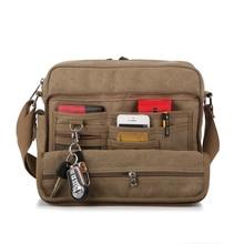 Neue 2016 Multifunktionale Männer Crossbody Messenger Bags Leinwand Vintage Casual Schultertasche herren Reisetaschen Taschen
