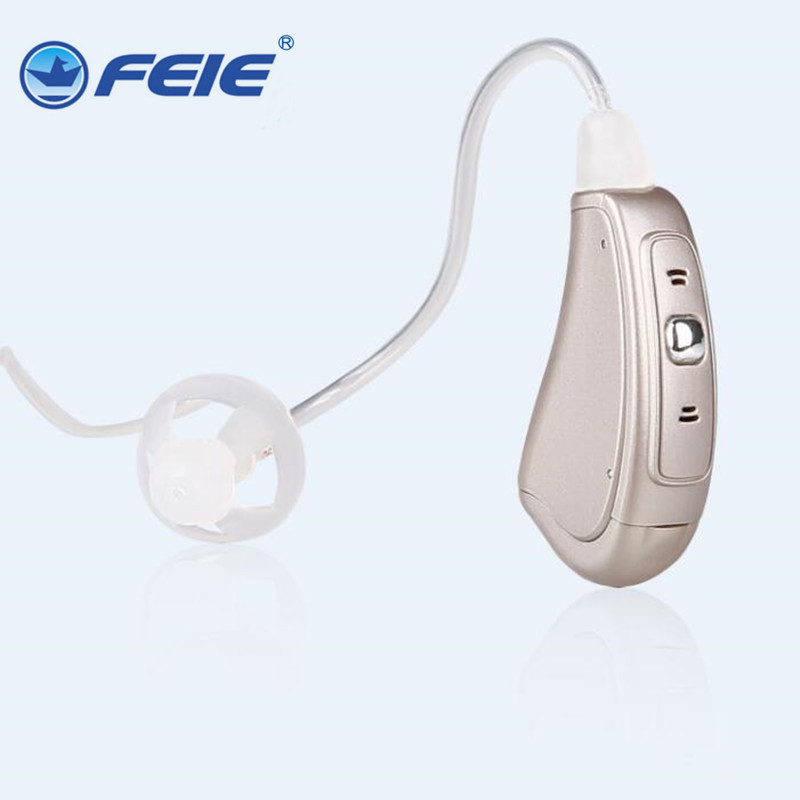 Cheap Hearing aid 2018 Bte Touching Hearing aids for Severe Elderly Deaf Ear Care Tools Aid Like Siemens Free shipping MY-17S micro ear mini bte analog hearing aid for external deaf fe 205 free shipping