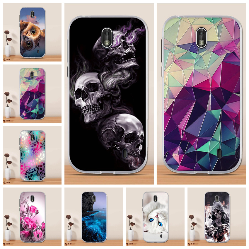 For <font><b>Nokia</b></font> 1 2018 Case Cover Silicon TPU 3D Funda Capa Cover Coque for <font><b>Nokia</b></font> 1 TA-<font><b>1047</b></font> TA-1060 TA-1056 TA-1079 TA-1066 Phone Case image