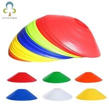 Nuovo 20 pz/lotto 19.5cm coni per allenamento di calcio dischi per marcatori calcio calcio allenamento sport accessori per l'intrattenimento GYH