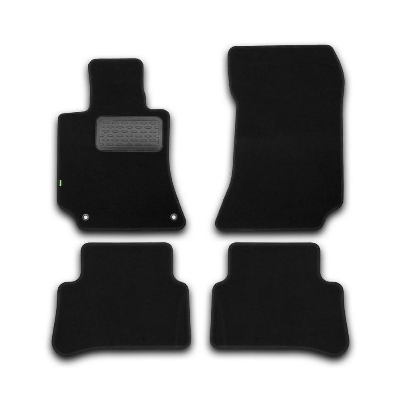 Mats in salon Klever Standard For MERCEDES-BENZ E-Class W212 AUTOMATIC TRANSMISSION 2014->, сед... 4 PCs (textile)