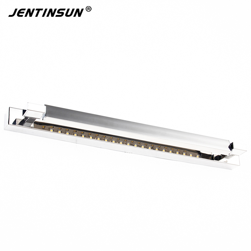 2016 New Bathroom LED Mirror Light  Mini Style LED Modern Wall Lamps lampada de led, Cold White 7W 62cm Fashion Jentinsun Lights 10pcs v 152 1c25 straight hinge lever ac dc micro switch