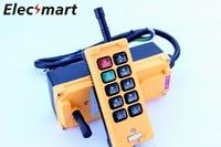 OBOHOS 12V 24V 110V 220V 380V HS 10 10 Channels 1 Speed Control Hoist industrial wireless Crane Radio Remote Control System
