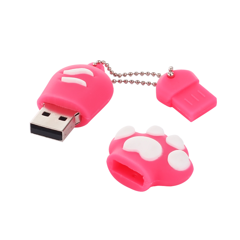 USB Flash Drive 64Gb - Qumo Hybrid OTG QM64GUD-Hyb