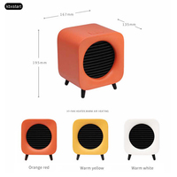 Living Room Handy Fan Heater Mini Portable Hot conditioner Space Air Fast Heaters 700W Adjustable Desktop Electrical Warmer 220V