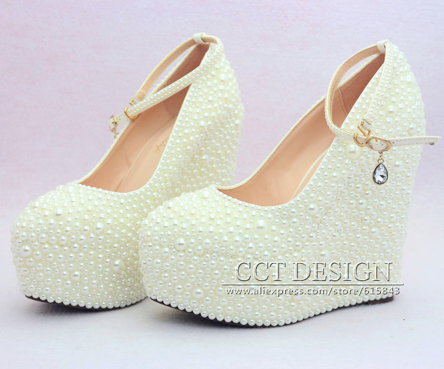 Weding Shoes For Bride Wedge 05 - Weding Shoes For Bride Wedge