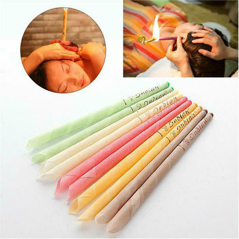 10Pcs Ear Wax Cleaner Removal Coning Fragrance Candles Healthy Hollow Sets New 1