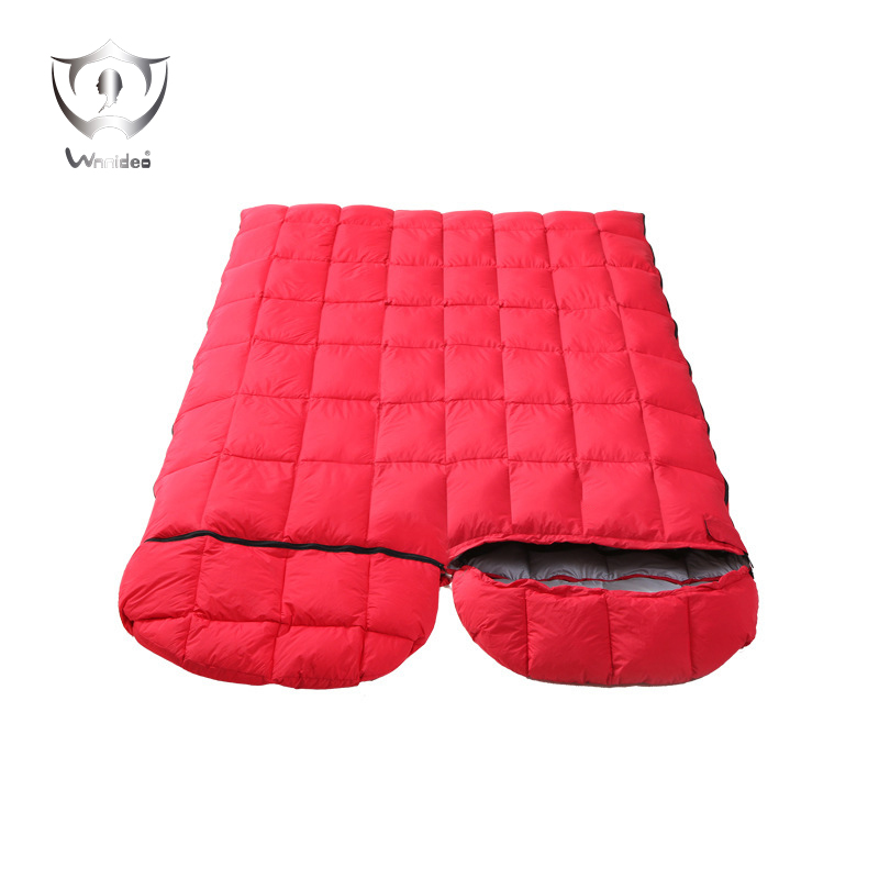 Eiderdown sleeping bag factory direct outdoor winter outdoor super light envelope 20 degrees below zero down sleeping ZS6-601 momskiss baby winter sleeping bag holds anti tipi child thickening envelope sleeping bag cart sleeping bag