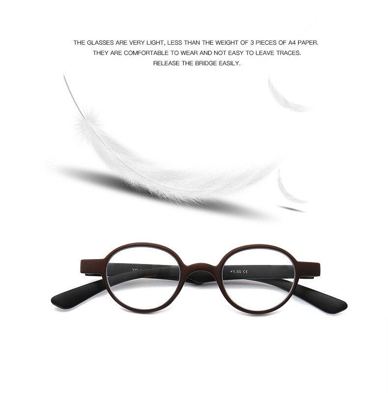 925aa4a4aa UVLAIK ronda gafas de lectura hombres ultraligero moda para mujer ...
