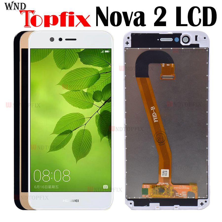 100% Tested For Huawei Nova 2 LCD Touch Screen Digitizer Assembly Screen Huawei Nova 2 Screen For Huawei Nova 2 Display Frame