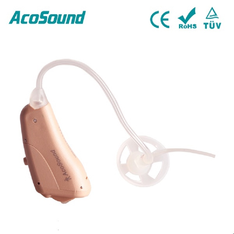 Acosound 610OF Digital Hearing Aid Ear Aids Small Sound Amplifier 6Channels Behind The Ear Hearing Aids Ear Care Tools acosound 210bte digital hearing aids deaf hearing aid sound amplifier bte ear aids hearing amplifier ear care tools