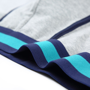 Image 5 - כותנה גברים מתאגרפים תחתונים מזדמנים תחתונים סקסיים לאוורר בתוספת גודל רחב מותניים מכנסיים מכנסיים 4 יח\חבילה