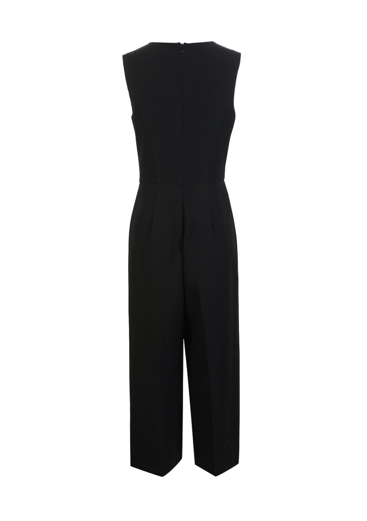 Vero Moda spring fashionable V-collar loose-leg cropped Jumpsuits for women |318144507 18