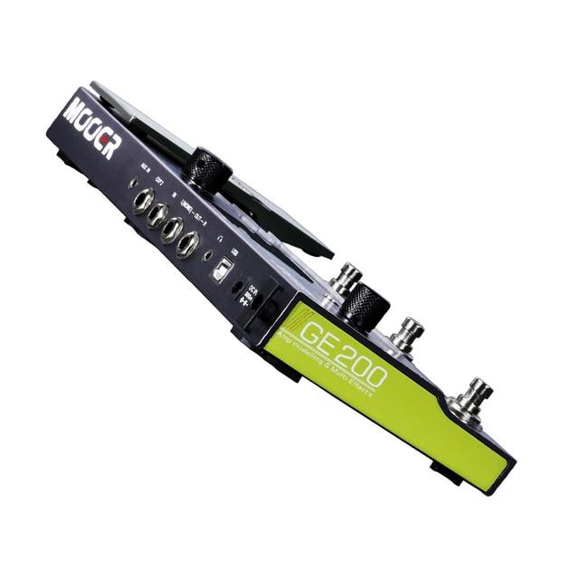 Mooer GE200 Amp modelling Multi Effect Processor Pedal With 26 IR Speaker Cab Model 52 Second Looper 55 Amplifier Models 2