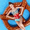 Flamingo inflável Colchão de Ar Cama Círculo Anel Barco Da Água Da Piscina de Natação Da Praia do Verão Brinquedos Para Adultos Crianças Flutuadores Bóia Kickboard