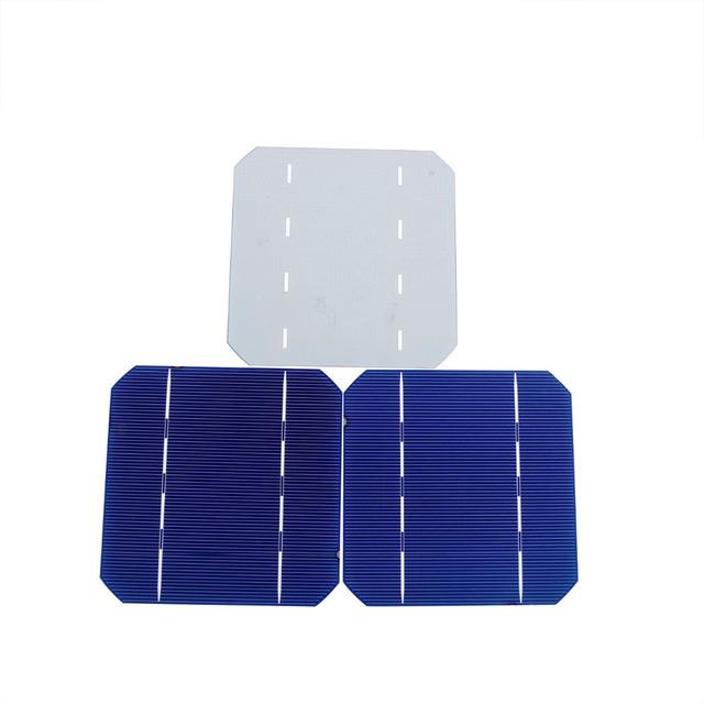 100pcs 5×5 A Grade 2.7W Monocrystalline Solar Cell 125*125mm Monocrystalline Solar Cells for DIY Solar Panel Solar System