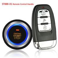 ST888 X1 12V General Car Alarm System Car Engine Start Stop SUV Keyless Entry Remote Controller Keyless Set Auto Car PKE System
