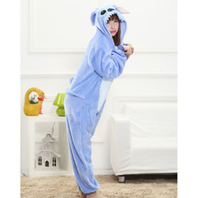 Animal Costume Onesies Adult Overall Pajama wholesale Women Men Party Jumpsuit Cartoon Onepiece Pokemon Stitch Panda Funny Suit