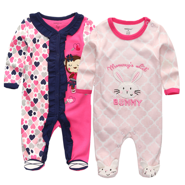 8f5361f7a94b Baby Girls Boys Clothes Long Sleeve Cute Cartoon 100% Cotton ...