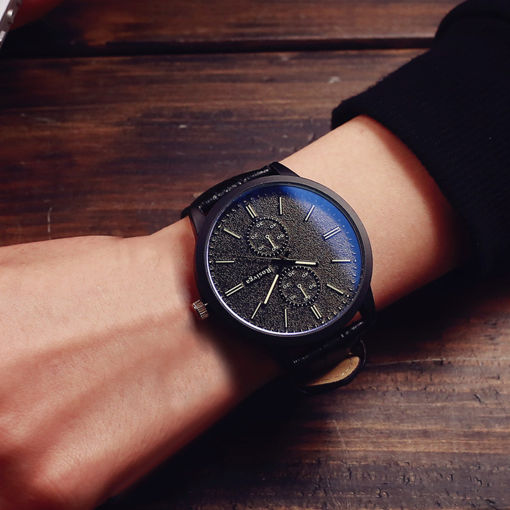 Male And Female Students Minimalist Fashion Personality Big Dial Watch men watch wome watch gift clock dignity 8.16