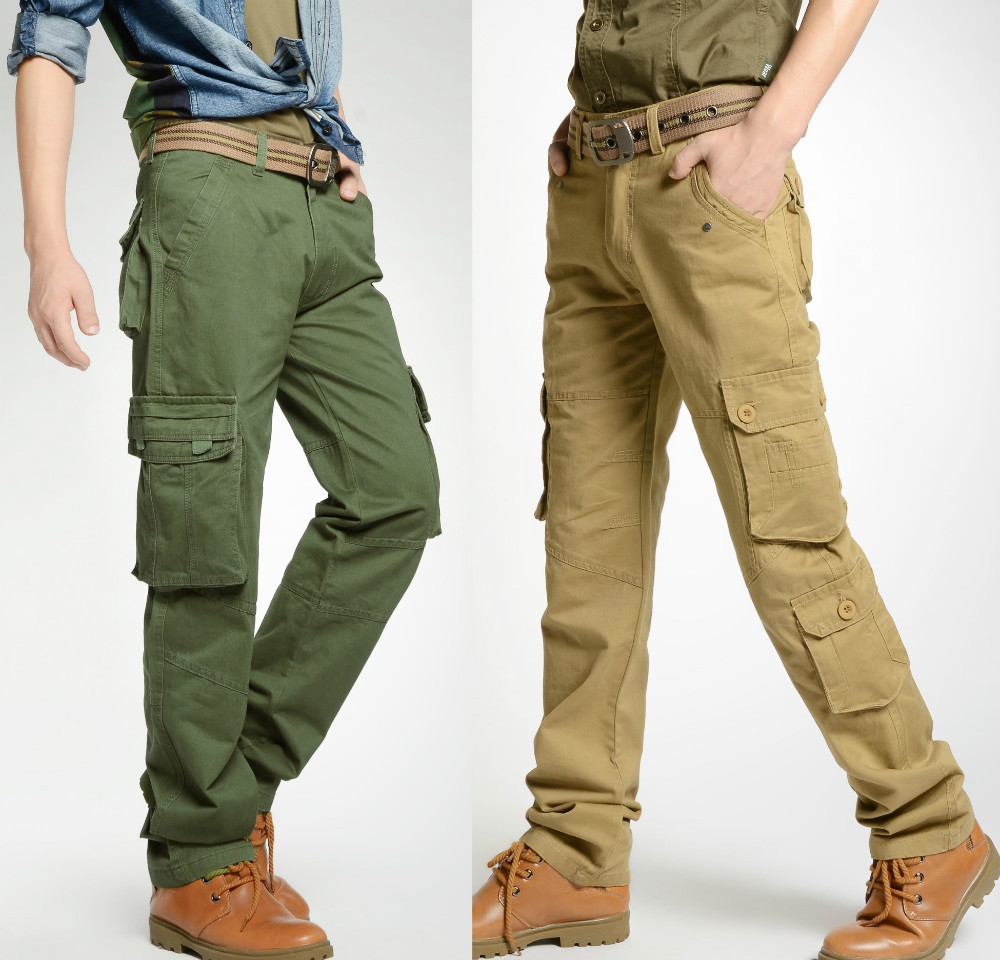 Aliexpress.com : Buy 100% cotton mens khaki pants outdoor hunting ...