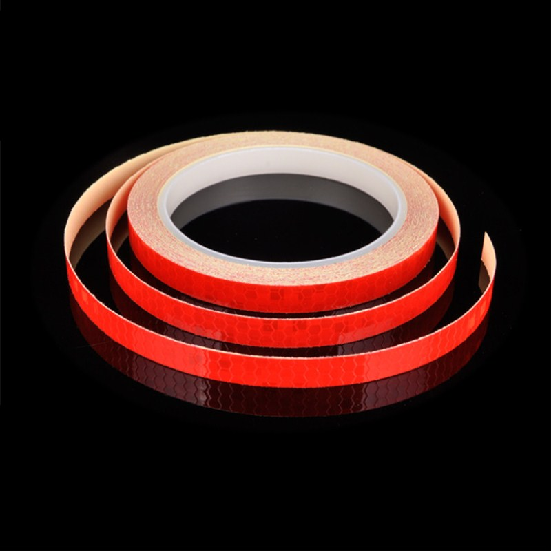 800cm/315inch Fluorescent Bike Bicycle Cycling Motorcycle Reflective Stickers Strip Decal Roadway Safety Wheel Reflective Tape