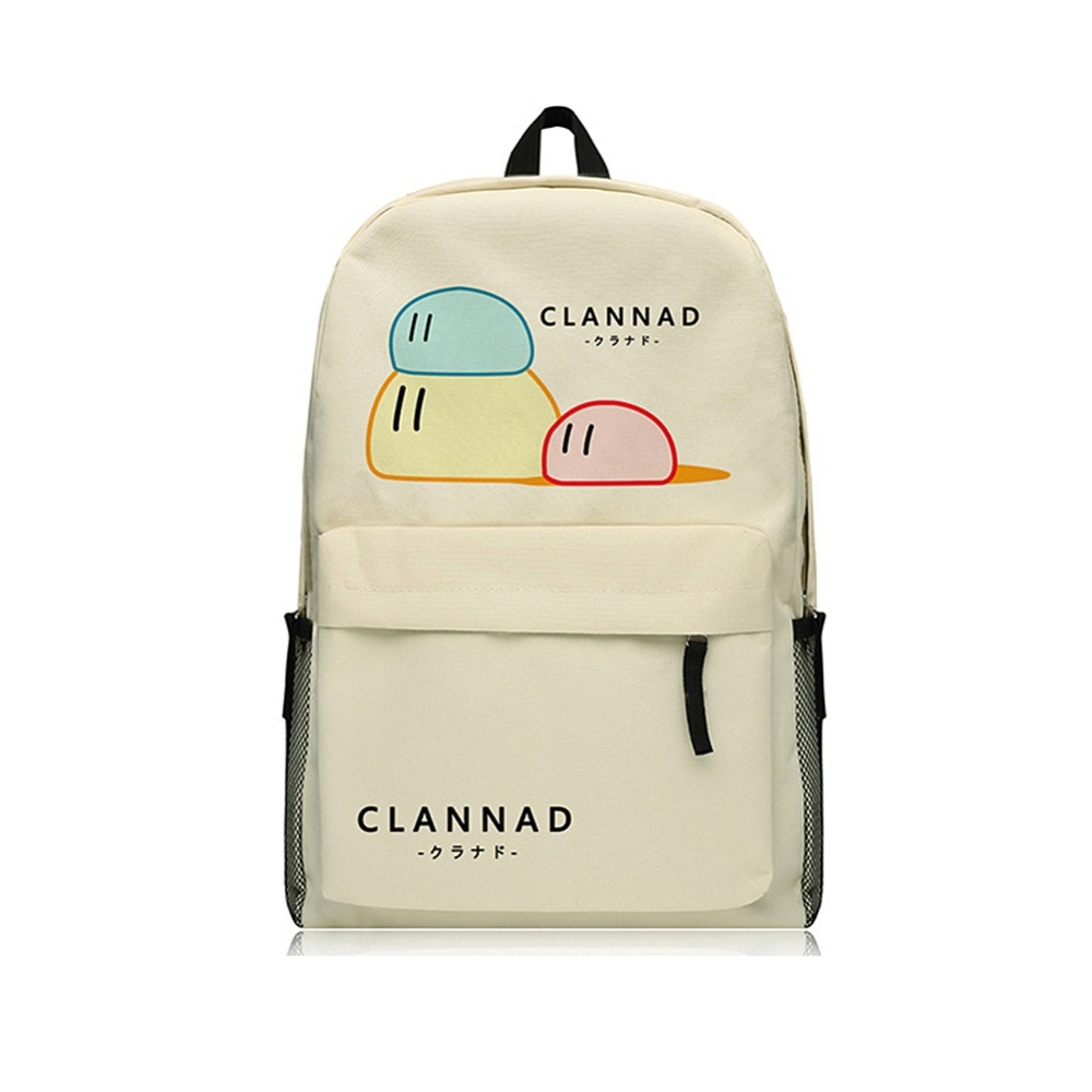 Clannad Backpack Women School Big Size 14inch Laptop Bookbags for Teenage Girls School Bags tiding genuine leather school backpack for teenage girls vintage stylish ladies drawstring 14 inch laptop backpack 2017